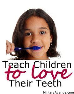 Teach Children to Love Their Teeth! Dental Assistant, Dental Hygiene, Dental Care, Dental Health Month, Oral Health, Dental World, Dental Kids, Healthy Teeth, Orthodontics