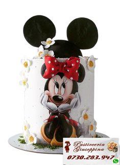 Tort de la Cofetaria Pasticceria Giuseppina ! Comanda direct pe WhatsApp : 0730283947 #torturi #ghencea #tort #iuliu #maniu Bolo Mickey, Mickey And Minnie Cake, Minnie Mouse Birthday Cakes, Mickey Cakes, Baby Birthday Cakes, Mickey Birthday, Mickey Party, Daisy Cakes, Bolo Cake