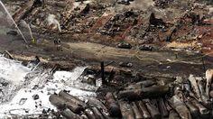 Total 47 morts pour du travail mal fait et des responsabilités non assumées.    Death toll rises to 47 after Lac-Mégantic train blasts - Montreal - CBC News