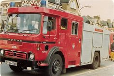 Old Lorries, Fire Apparatus, Emergency Vehicles, Fire Engine, Fire Trucks, Law Enforcement, Firefighter, Ems, United Kingdom