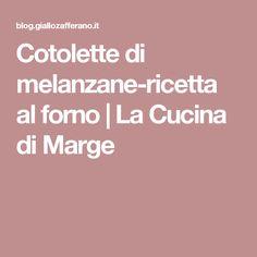 Cotolette di melanzane-ricetta al forno | La Cucina di Marge