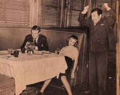 1930s The last straw is to pass out from too much liquor. Chances are your date will never call you again.