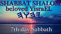 Enjoy your Sabbath rest!