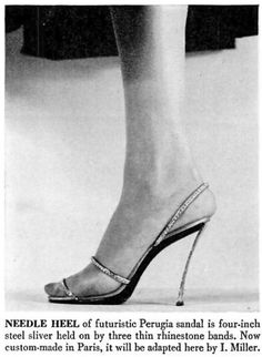 1951, October | LIFE Magazine  Source: LIFE...I can't imagine how uncomfortable these must be!