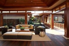 Knudson Interiors - asian - exterior - hawaii - by Knudson Interiors Asian Home Decor, Easy Home Decor, Wood Interior Design, Exterior Design, Asian House, Asian Interior, Asian Design, Railing Design, Japanese House