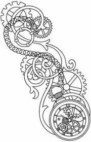 Image result for adult coloring pages steampunk