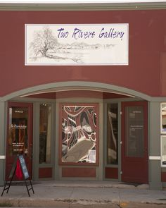 Two Rivers Gallery, Big Timber, Montana. Montana Homes, Two Rivers, Big Sky Country, Fine Art, Gallery, Roof Rack, Visual Arts