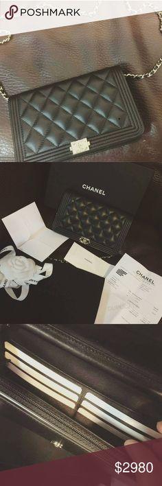 NWT Chanel boy WOC crossbody Beautiful rare NWT Chanel Boy WOC.SPECIAL discount today. CHANEL Bags Crossbody Bags