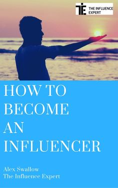Get a completely free copy of my book 'How To Become An Influencer' at www.theinfluenceexpert.com  It contains more than 100 pages of tips, exercises and guidance about how to grow your influence and have more of an impact on the world....