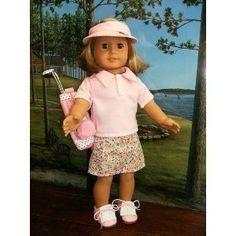 "PINK GOLF 9 PC SET - Fits American Girl 18"" Doll Clothes (Toy)  http://www.amazon.com/dp/B005HQ1J20/?tag=goandtalk-20  B005HQ1J20"