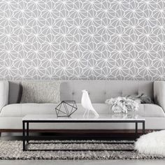 """Upgrade your walls with this bold graphic wallpaper. Kaleidoscope is classic, yet modern and geometric. Our matte wallpaper creates a sophisticated look to any room, yet is durable and scratch resistant. Available in 8 Colors /// Available in Residential + Commercial /// Pattern repeat: 7.5"""" L Designed and printed in Indianapolis, Indiana, USA Printed using Water-based Ink Smooth Matte Finish PVC Free /// FSC Certified /// Tear & Scratch Resistant Surface /// Dimensionally Stable /// Odor…"""