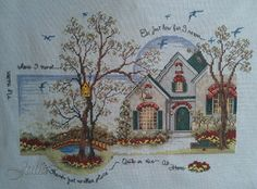 Doris Morgan is one of my FAVOURITE cross stitch designers! ♥