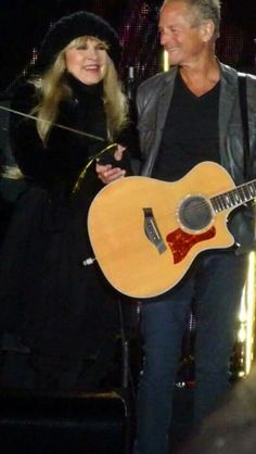 Stevie & Lindsey made for each other .