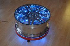 Felgentisch beleuchtet Felgen Reifen Tisch V8 Motortisch Zapfsäule Tanksäule | eBay