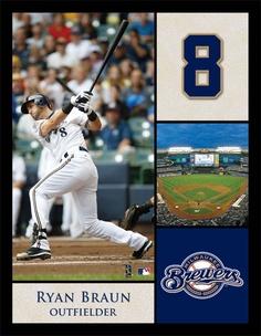 Milwaukee Brewers outfielder Ryan Braun