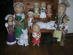 Pozdrav do bydlení Ooak Dolls, Painting, Art, Kunst, Art Background, Painting Art, Paintings, Performing Arts, Painted Canvas
