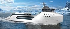 Container Ship Converted to Superyacht - Core77