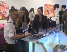 Nice day for a WEED wedding! Couples flock to the world's first marijuana-themed bridal expo, complete with 'budtenders', pot-infused food, and even cannabis bouquets