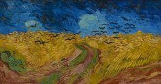 Vincent Van Gogh, Van Gogh Museum, Van Gogh Arte, Van Gogh Paintings, Wheat Fields, Dutch Painters, Felder, Oil Painting Reproductions, Oil Painting On Canvas
