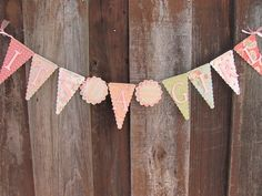 Its a Girl Banner, Baby Shower Banner, Baby Shower Decorations. $25.00, via Etsy.