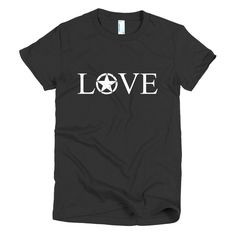 United States ARMY LOVE Short sleeve women's t-shirt