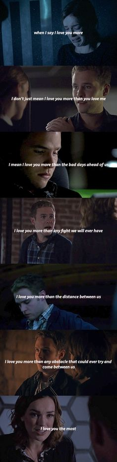 I just finished season one, and I am not ready for FitzSimmons feels. *Starts crying in a corner*