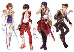 Persona 5 Bros - artist unknown