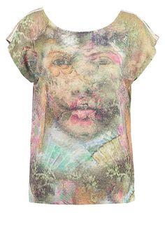 Cream YUKI  - T-Shirt print - smoke sand für 44,95 € (05.07.17) versandkostenfrei bei Zalando bestellen.