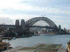 SYDNEY HARBOUR BRIDGE, SYDNEY, AUSTRALIA TRAVEL AUSTRALIA ICONS