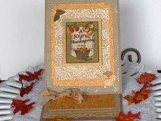 Thanksgiving greeting card A Joyful by BellaBoutique23 on Etsy
