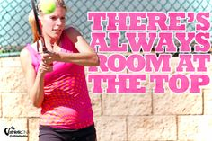 There's always room at the top. #tennis