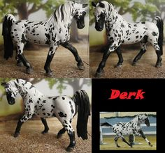 Commission: repainted schleich Tennessee Walking Horse stallion
