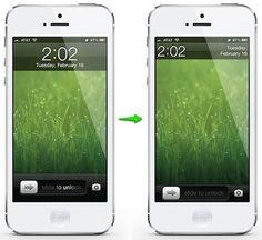 SubtleLock un toque minimalista a la pantalla de bloqueo del iPhone