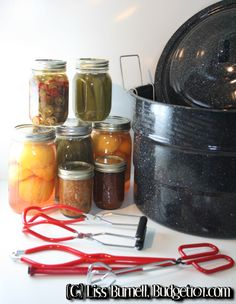 Home Canning can seem a little over-whelming if you've never attempted it before. Have no fear, canning your own fruits, veggies and even meats is relatively easy! Here are step by step directions that explain the tools you'll need to make your own delicious, healthy home-canned goods . . .