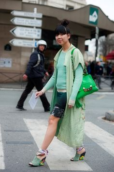 Susanna Lau, also known as Susie Bubble, is a writer and editor living and working in London. Lau started her blog 'Style Bubble' in March 2006.