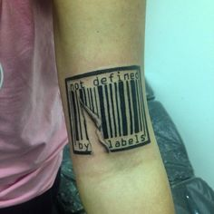 awesome Top 100 barcode tattoo - http://4develop.com.ua/top-100-barcode-tattoo/