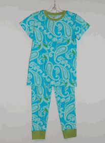 Hawaiian paisley short sleeve classic pj