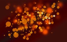 Orange Dots Abstract #wallpaper