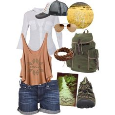 Hiking Outfit by chiqui-jsp on Polyvore