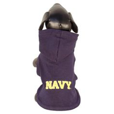NCAA Navy Midshipmen Collegiate Cotton Lycra Hooded Dog Shirt (Team Color, XX-Small) * Want to know more, click on the image.