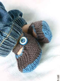 baby booties - another idea