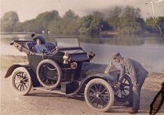 Autochrome, 1900s //  Auguste and Louis Lumière