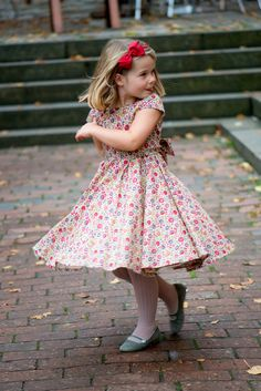 Liberty Print Classic Party Dress with Sash and Net Petticoat D'Anjo £89.00 http://www.suehillhandknits.co.uk/girls-clothing/girls-dresses-party-dresses/girls-liberty-print-party-dress-sash-net-petticoat.html