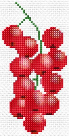 1 million+ Stunning Free Images to Use Anywhere Cross Stitch Fruit, Small Cross Stitch, Cross Stitch Kitchen, Cute Cross Stitch, Cross Stitch Designs, Cross Stitch Patterns, Loom Patterns, Creative Embroidery, Embroidery Kits