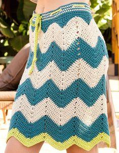 Granny Square Häkelanleitung, Granny Square Crochet Pattern, Crochet Stitches Patterns, Crochet Cardigan, Knit Crochet, Crochet Hats, Crochet Summer, Crochet Skirts, Crochet Clothes