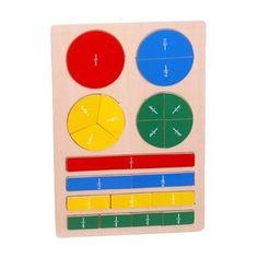 Jeux pédagogiques mathématiques : les fractions