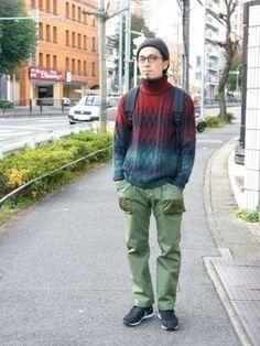 Hour Chambers   Yagotoyama429さんのニット・セーター「Episode No., 」を使ったコーディネート