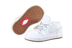 Nike Jordan Retro V.1 (TD) 487297-100 Toddler - http://www.gogokicks.com/