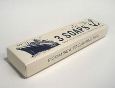 vintage style nautical soap box.