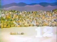 Classic Sesame Street animation -  12 rocks This one was my FAVORITE!!!!!!!